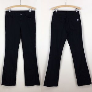 Tory Burch Pants - TORY BURCH Black Classic Boot Jeans